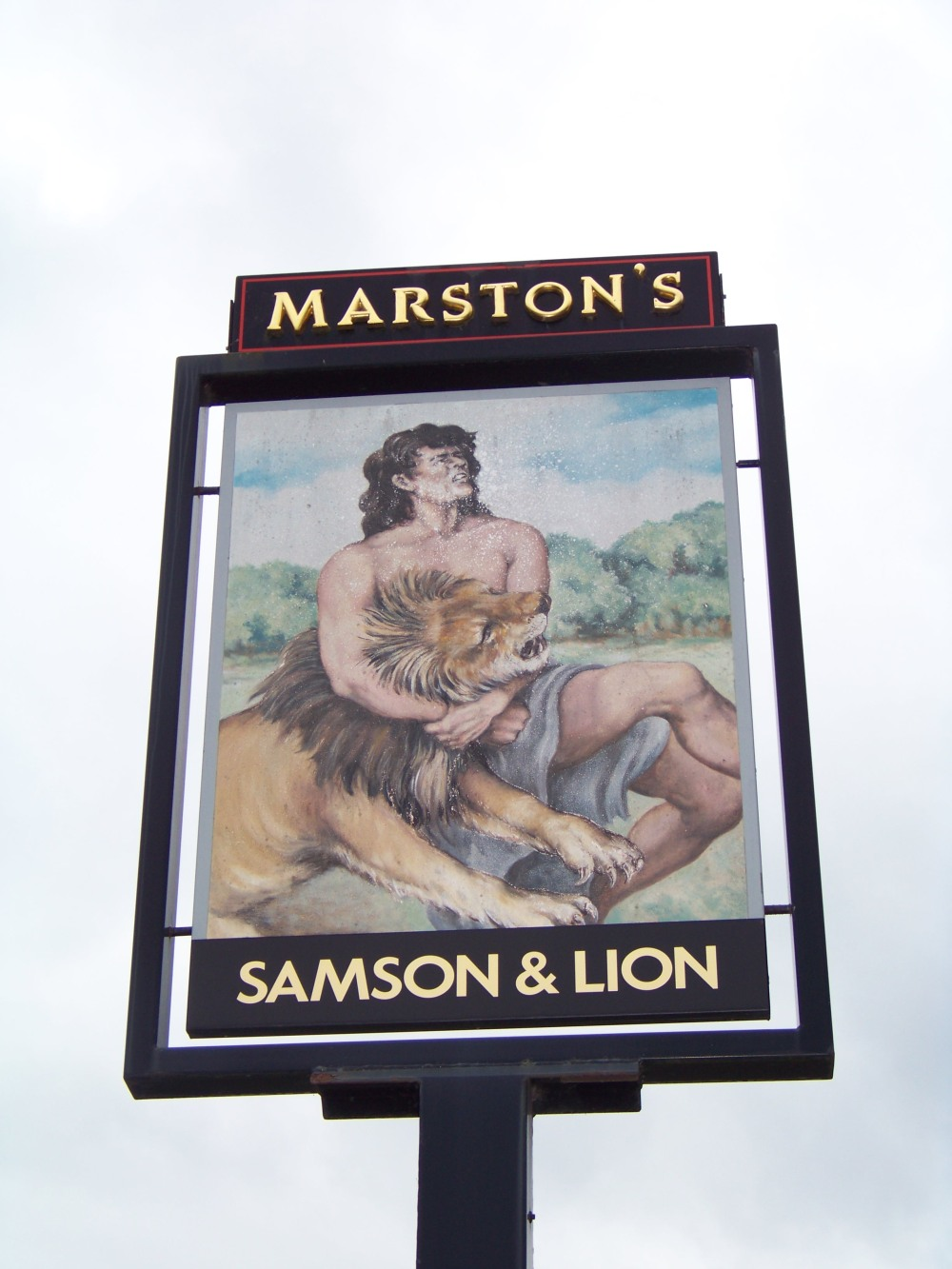 Samson & Lion