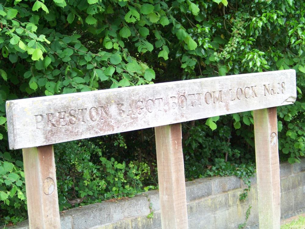 Preston Bagot Bottom Lock