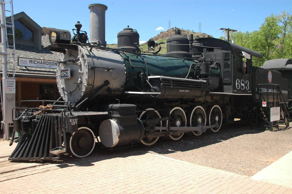vintage railroad engines