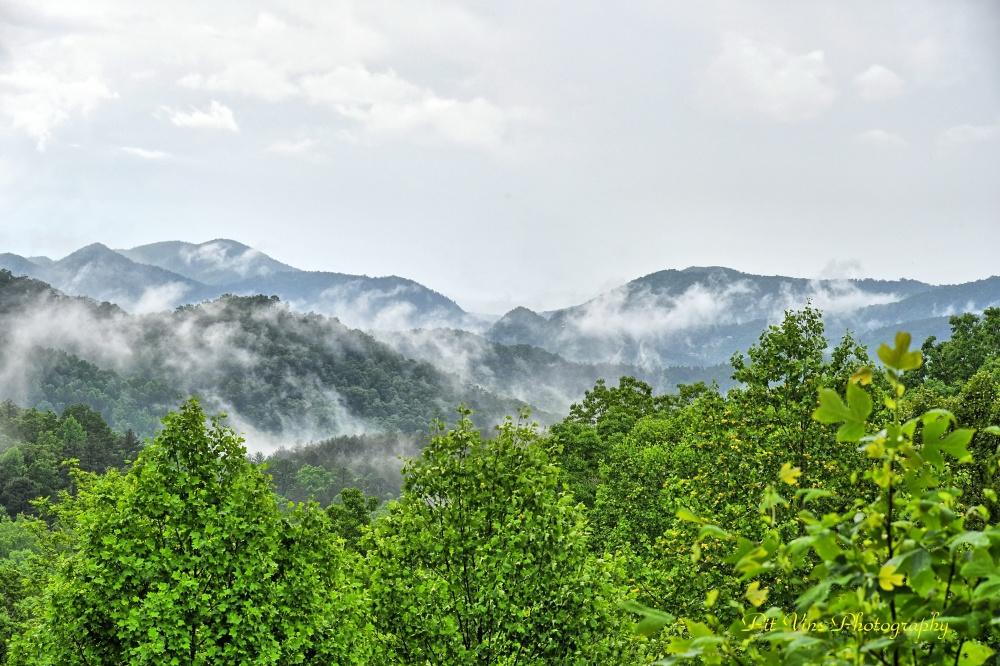 Steaming Georgia Mountains