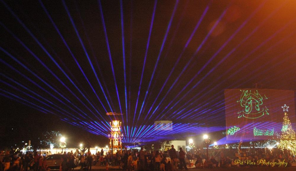 marktplatz lasershow