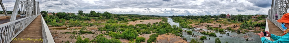 Llano River Panorama
