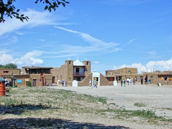 Taos Pueblo: New Mission Church