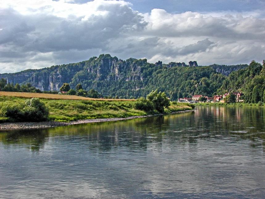 Elbe and Elbsandsteingebirge