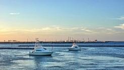 Sportsfishermen Coming Home